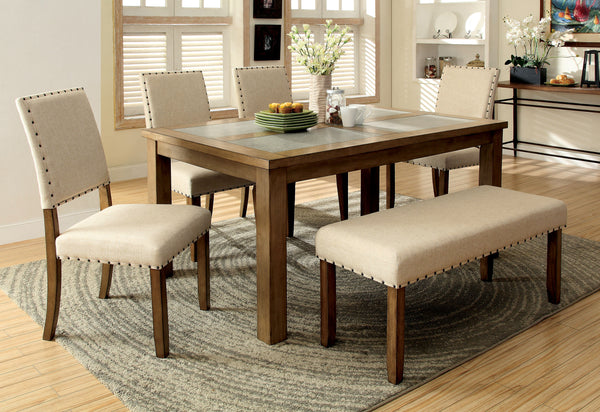 Elly Transitional Dining Bench