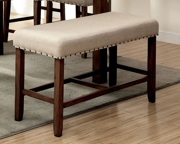Elly Transitional Counter Height Bench