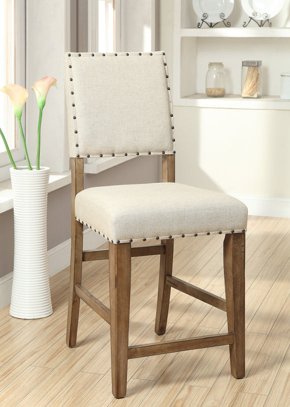 Elly Transitional Counter Height Chair