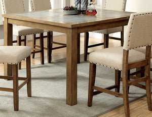 Elly Transitional Counter Height Table