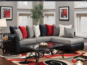 Abbey Sectional by HD Furniture - HD Furniture