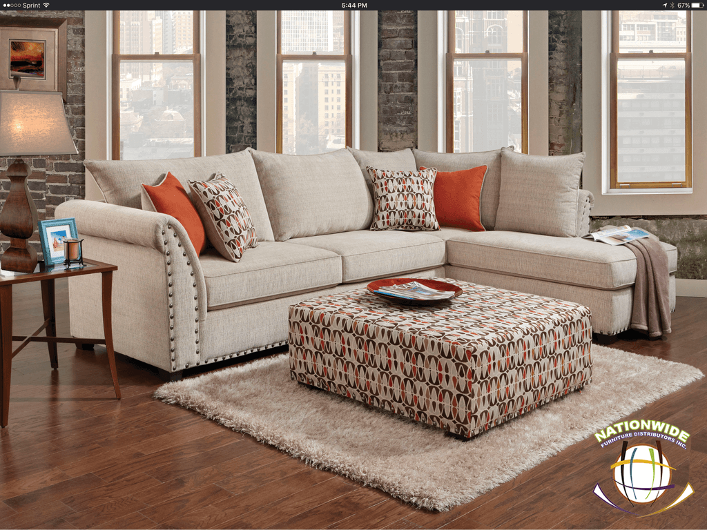 Riley Sectional by HD Furniture