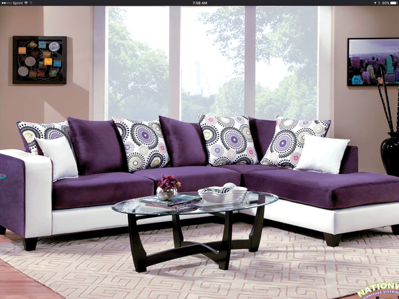 Latoya Sectional by HD Furniture