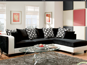 Pleasing Connie Sectional By Hd Furniture Cjindustries Chair Design For Home Cjindustriesco