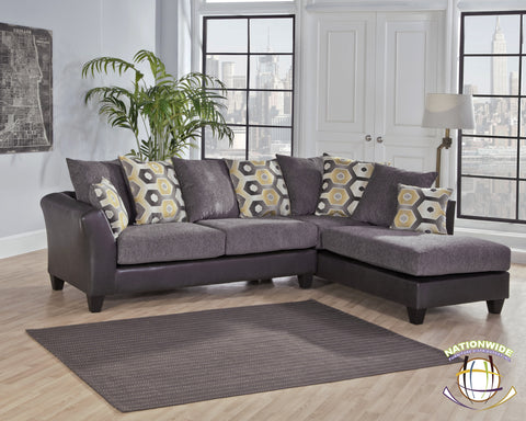 Jefferson Sectional by HD Furniture