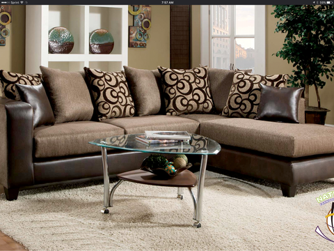Brandon Sectional by HD Furniture - HD Furniture