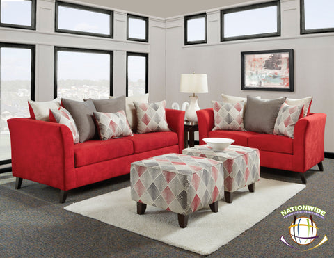 Audrey Collection Loveseat by HD Furniture - HD Furniture