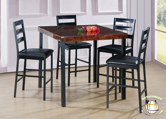 5pc Dining Set by HD Furniture - HD Furniture
