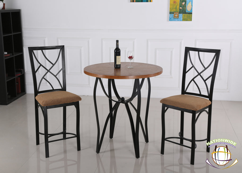 3pc Pub Set by HD Furniture