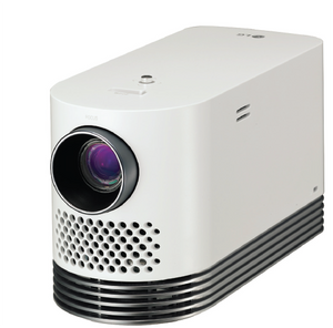 LG Electronics HF80JA Laser Smart Home Theater Projector- White