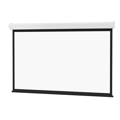 Da-Lite 94358 Model C Spring Roller Type Screen with Controlled Screen Return