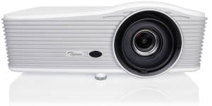 OPTOMA W416 4500 ANSI Lumens-1.6x zoom, HD Ready compact Projector-White