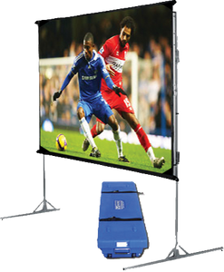 VUTEC PF072096BW Portable Front Projection Screen - 120""