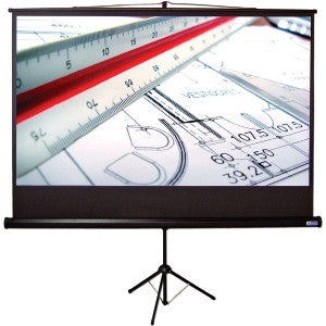 VUTEC EVTR5496 PORTABLE TRIPOD PROJECTION SCREEN 110