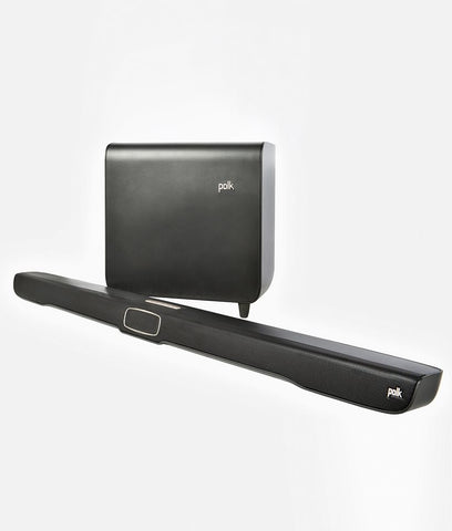 Polk Audio Select OMNI COLLECTION OMNI SB1 PLUS 3.1-channel sound bar with a wireless subwoofer