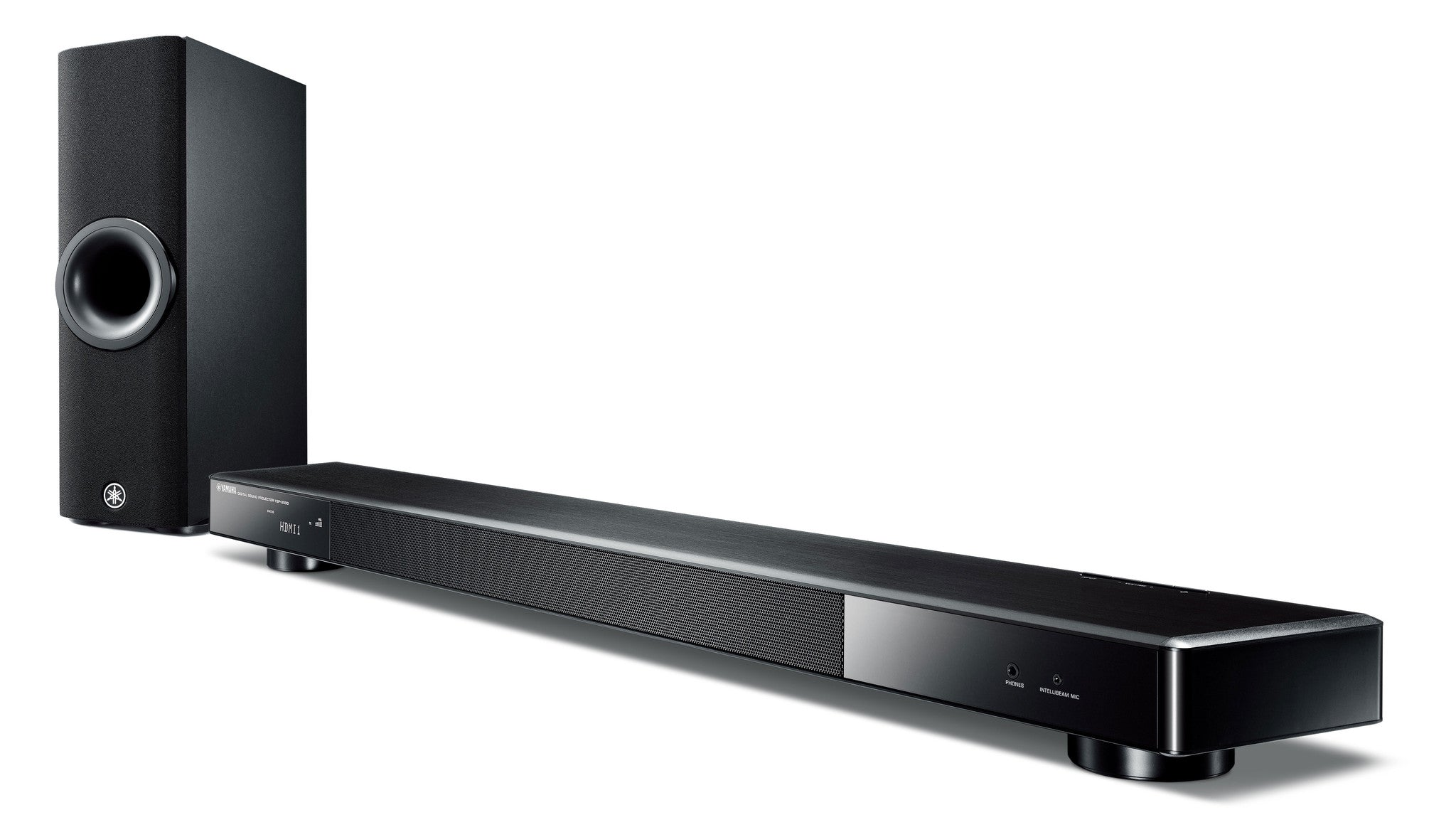 Yamaha YSP-2500BL True 7.1 Ch Surround Sound Bar with Bluetooth and wireless subwoofer.