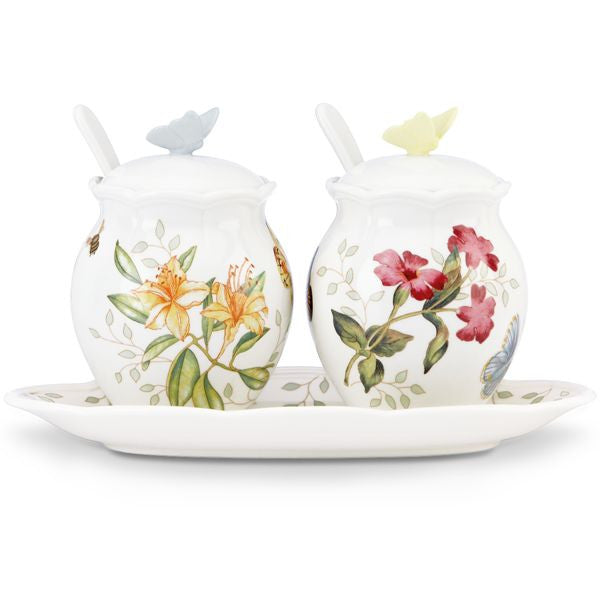 Butterfly Meadow® 7-piece Condiment Set by Lenox - HD Furniture