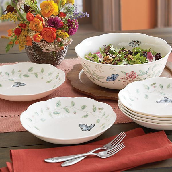 Butterfly Meadow® 7-piece Salad Set by Lenox