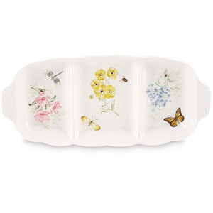 Butterfly Meadow® Divided Serving Dish by Lenox - HD Furniture
