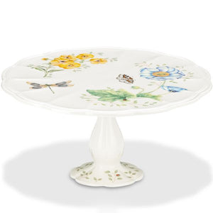 Butterfly Meadow® Pedestal Cake Plate by Lenox