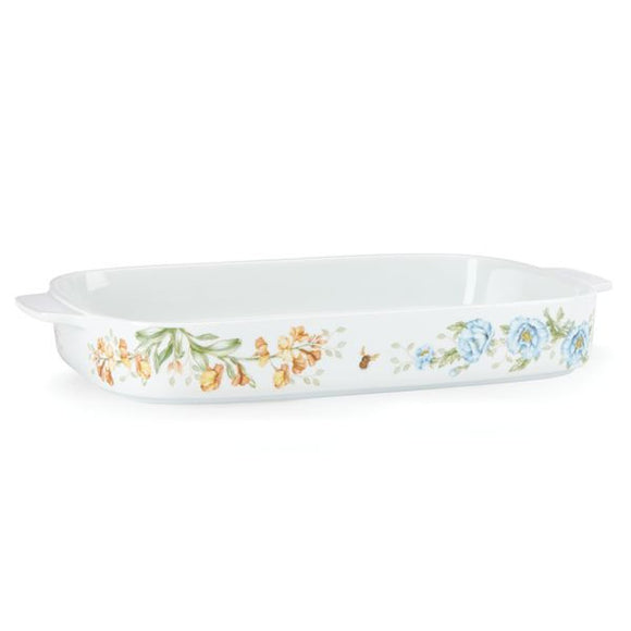 Butterfly Meadow® Rectangular Baker by Lenox