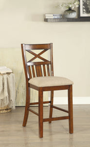 Adriana Transitional Counter Height Chair - HD Furniture