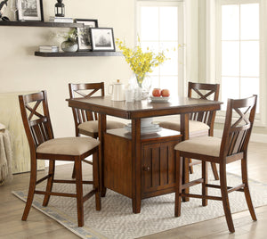 Adriana Transitional Counter Height Table