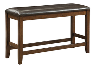 Elizabeth Transitional Counter Height Bench