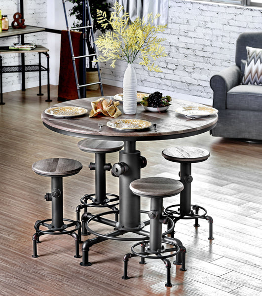 Coyler Industrial Counter Height Chair - HD Furniture