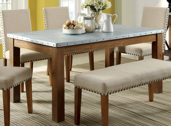 Chelsi Industrial Dining Table - HD Furniture