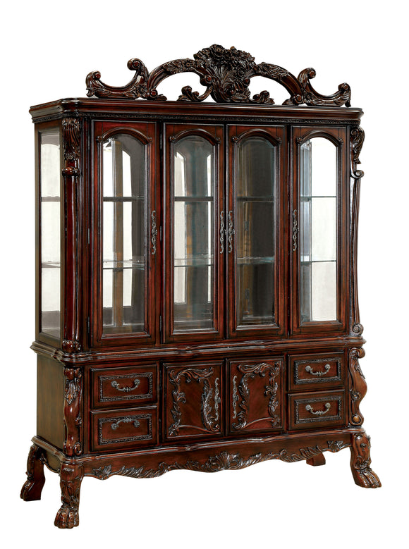 Celeste Traditional Hutch And Buffet Hd Furniture