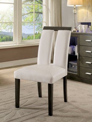 Essig Contemporary Side Chair, Gray