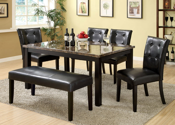 Benson Contemporary Dining Table - HD Furniture