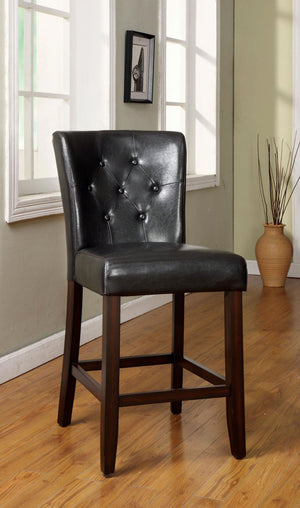 Isley Contemporary Counter Height Chair, Espresso