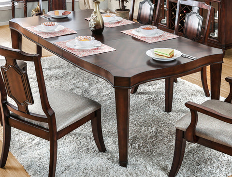 Aylie Traditional Dining Table - HD Furniture