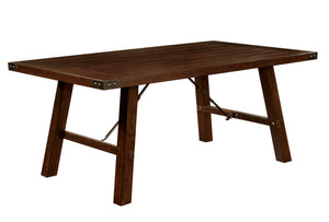 Brit Transitional Dining Table - HD Furniture