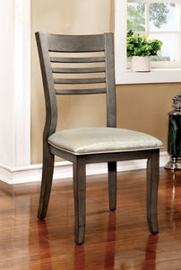 Marcel Transitional Side Chair, Gray
