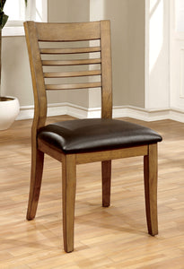 Marcel Transitional Side Chair, Natural Tone