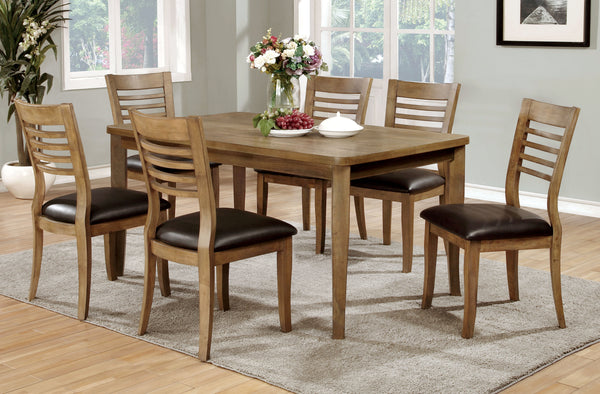 Marcel Transitional Dining Table, Natural Tone