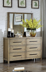 Lanta Contemporary Dresser and Mirror