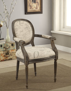 Mandie Transitional Arm Chair