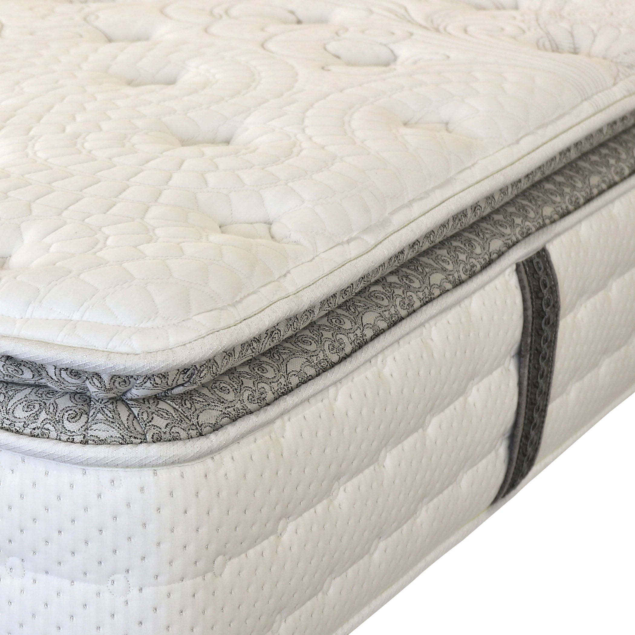 "Keating 14"" Pillow Top Full-Size Mattress with Gel Memory Foam"