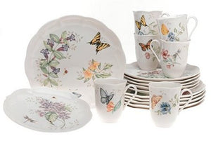 Butterfly Meadow® 18-piece Dinnerware Set by Lenox