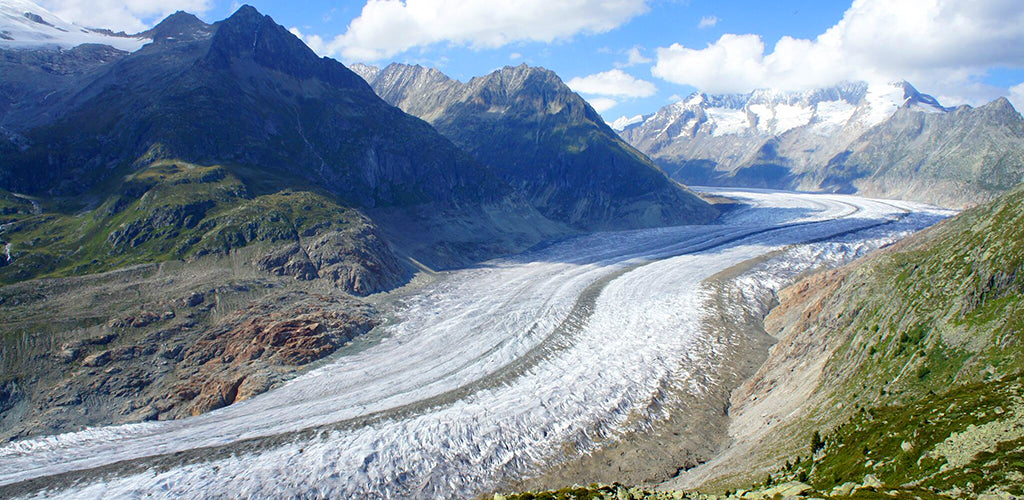 Aletsch glacier Fiesch Valais Switzerland INVIN