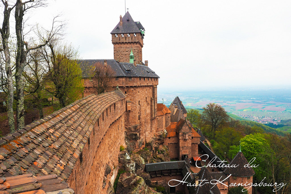 Castle Haut-Koenigsbourg Alsace Colmar France INVIN Travel & Jewelry