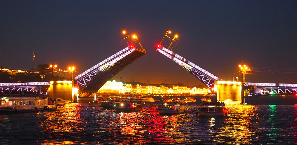St Petersburg Bridges Neva INVIN