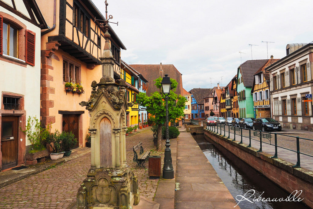 Ribeauville river Alsace France INVIN Travel and Jewelry