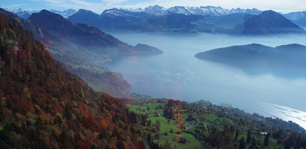 Switzerland in autumn Rigi Alps INVIN