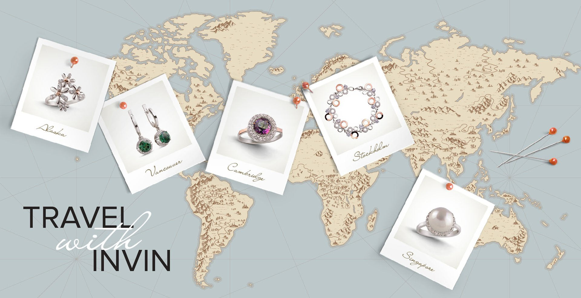 INVIN travel and jewelry