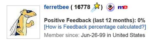 Ferretbee Enterprises Amazon Feedback and Reviews